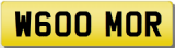 MORGAN Private Cherished Registration Number Plate MORGAN MOOR MOORE MOR